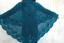 Crocheted and Knitted Poncho Patterns