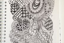 My Zentangle projects