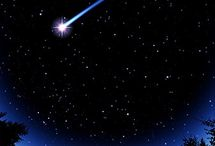 Moon & starry night