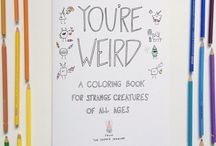 Indie Coloring Books