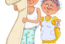 Humor oldinger / by Kari-Mette Laget