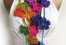 Crochet Necklaces Scarfs