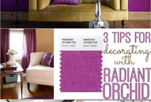 Radiant Orchid. Pantone Color of the year 2014 / Think bright. Then think brighter. You've got it.