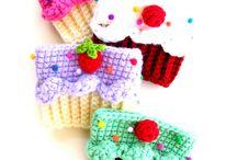 crochet cup cozy/coasters