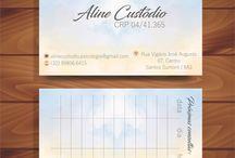 IDENTIDADE LANTEJOULA - Cartão de visita / Artes individuais e personalizadas para cartão de visita