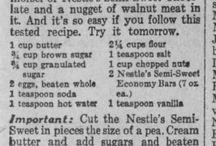 Scrapbook Recipes