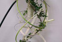 brudearbeid / ulike blomsterarbeid til brudepar
