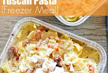 Make Ahead Freezer Meals / Meals to make ahead for your freezer for busy families. Freezer meals can save so much time in the kitchen.