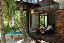 Best Beach Houses / This board is about relaxing homes overlooking the ocean and on the beach!