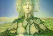 Brigid / To learn more about your goddess connection, do check out my Goddess Guidance Group - BASIC membership is FREE!! http://www.amypalko.com/project/goddess-guidance/
