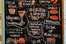 Еда и напитки на вечеринки