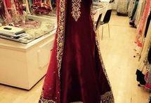 My wedding dresses