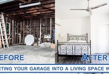 Built to perfection garage conversions. Before and after