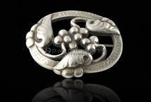 Georg Jensen / Georg Arthur Jensen was a Danish silversmith and famous for his silver work and design in fine jewelry, dinnerware, and more. / by Danish Sisterhood of America