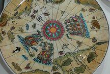 çini ceramik piri Reis haritası