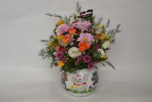 Aranjamente Florale / aranjamente florale pentru nunta, botez, copii, mama si fica, firme si aniversari.