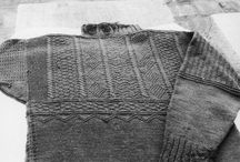 Ganseys knitting