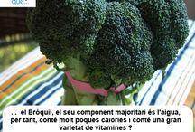 Bròquil / Brócoli  / Aquí trobaràs curiositats sobre el bròquil  / Aquí encontrarás curiosidades sobre el brócoli