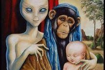 Alieni -ipotesi aliene varie UFO