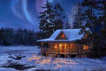 Cozy Winters Snow