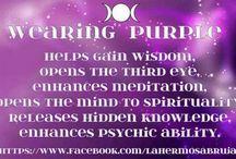 Wearing Purple