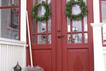 Päätalon remppa/kuisti / Verandah porch, Veranda och farstu