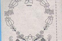 himzes-festes minta