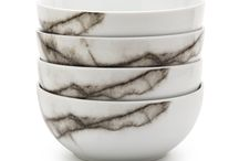 Salt & Pepper servies Marble