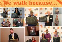 """I walk because... / """"I walk because..."""" may elicit different answers from our Walkers, but everyone involved in the annual Walk for Hunger makes a difference! http://www.projectbread.org/get-involved/follow-project-bread.html #walkforhunger"""