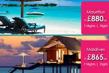 Romantic Holiday Packages for Maldives and Mauritius