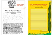 Write What You Know - A Free eBook! / An interactive eBook where you participate in a conversation about meaningful things in life you know about! Click any of our pins to check out the book or visit MakeBeliefsComix.com/eBooks!