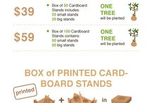Recycled We Stand - The Cardboard Stand Company