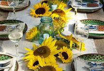 Tablesettings / by DIANE PICKERILL