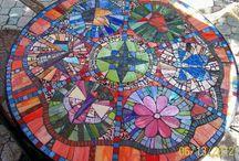 Glas mosaic