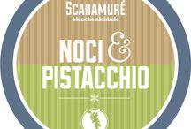 gelato noce e pistacchio a marchio Scaramuré / Gelato  noce e pistacchio Con latte e panna da latte dell'Appennino campano, noci campane e pistacchio di Sicilia, zucchero di canna. Il Latte dell'Appennino Campano, è un latte fresco, crudo o pastorizzato prodotto da bovini che si alimentano prevalentemente con foraggi composti da erba e fieno.   Per informazioni e ordinazioni tel: 081 19935072 Mobile: 347 8543575 info@scaramure.it Nola in via on. Francesco Napolitano n. 105