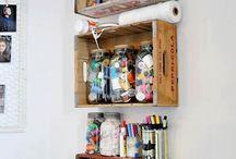 My Craft Room / Love this idea