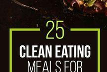 vegan/vegetarian clean eating