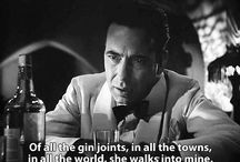 casablanca / of all the gin joints . . .