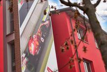 New Buildings' facades #maranellovillage #ferrari #maranello