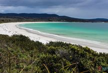 Tasmania's East Coast / Recognised as having some of the best beaches on the planet, make sure you're bucket list of places to visit contains Tasmania's East Coast.