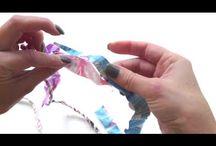 Fabric scraps / Twine