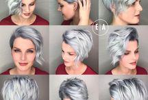 Coupe courte de cheveux