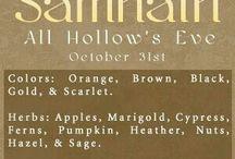 Samhain 31.10-01.11 / Halloween