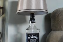 lamp in fles