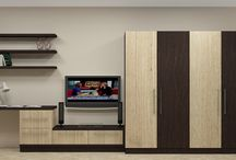 Wardrobe Online India / Modern Bedroom Wardrobe / Cupboards Online for Indian homes at low prices with 2, 3, 4, 5 doors along with storage.