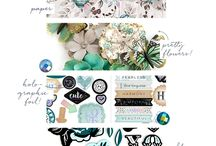 Zella Teal Collection / Prima's written the book on creating gorgeous paper collections usable for all craft genres! Zella Teal is no exception. Presenting a stunning paper collection, complete with amazing embellishments for cardmakers, tag-lovers, planner addicts, and more!
