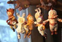куклы из ваты