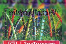 Miscanitasart-manillas en mostacilla