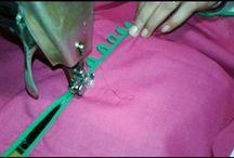 easy way for stitch kurtie