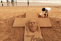 Sudarshan Pattnaik SAND ARTS / This board will take you to the beautiful world of sand art by odia sand artist Sudarshan Pattnaik